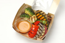 季節の8種のグリル野菜サラダ(セット)