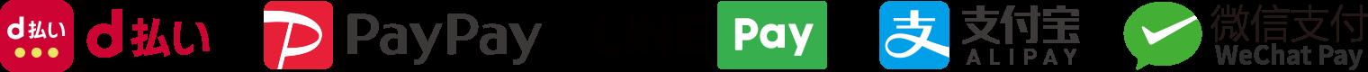 QR・バーコード決済対応ブランド