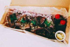 藁焼きカツオのたたき:オードブル(単品)