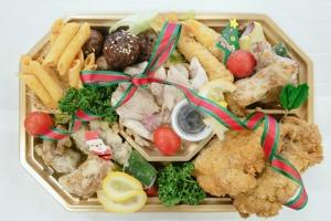 クリスマスオードブル    サンタ(2~3人)